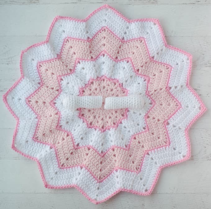 Crochet Lovey Blanket