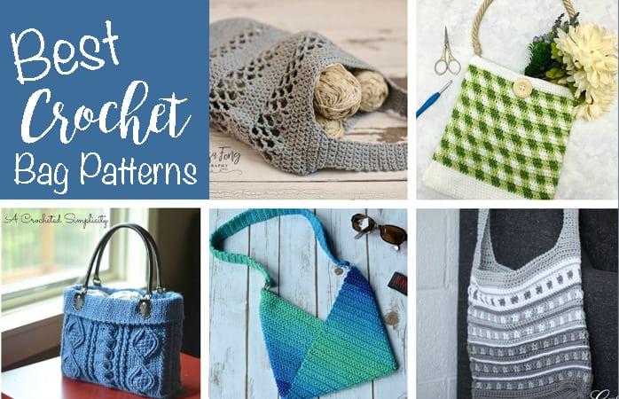 Crochet Bag Patterns 60 Spectacular Crochet Bags To Make