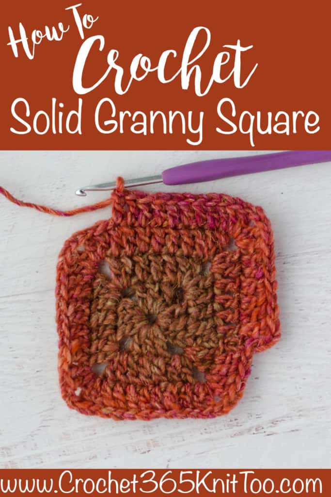 Solid Granny Square