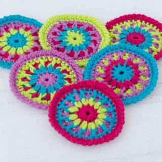 Crochet Coaster Pattern