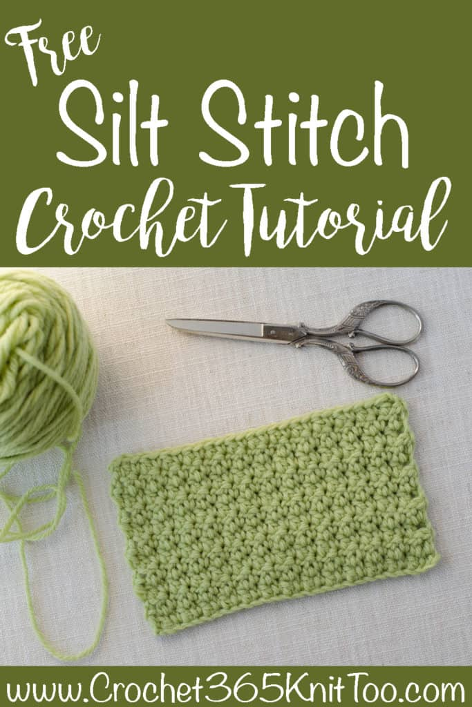 Crochet Silt Stitch