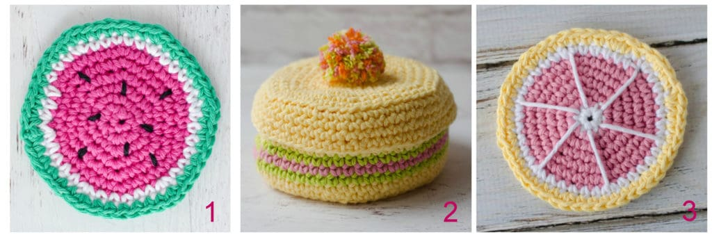 Kaleidoscope Crochet Coaster Pattern