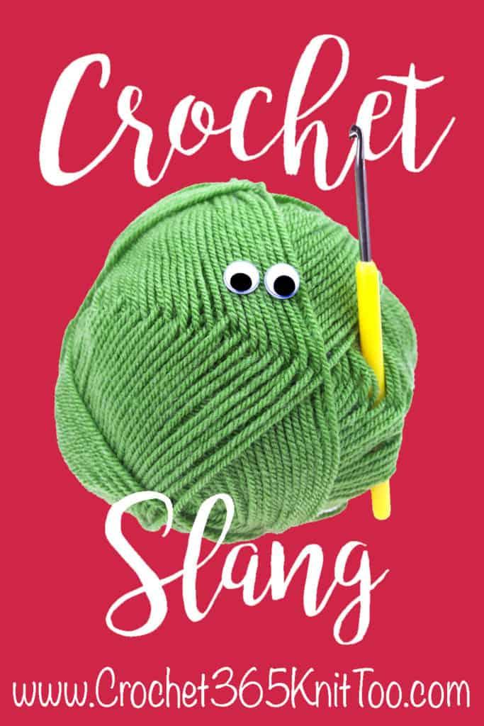 crochet slang