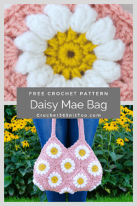 Daisy Mae Crochet Bag