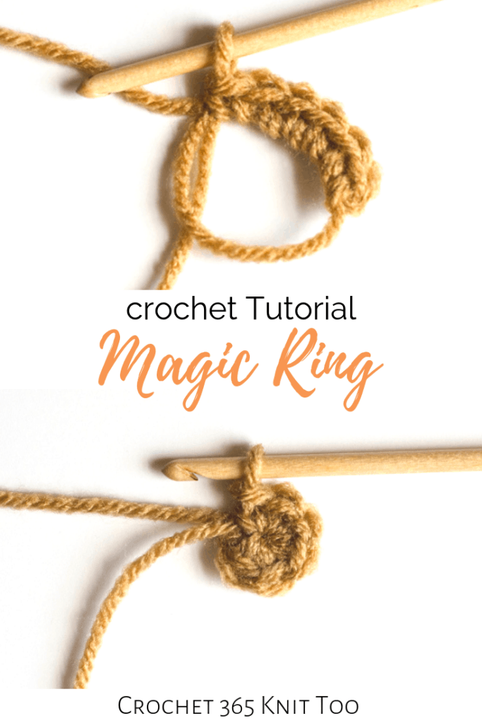 How To Crochet A Magic Ring Crochet 365 Knit Too