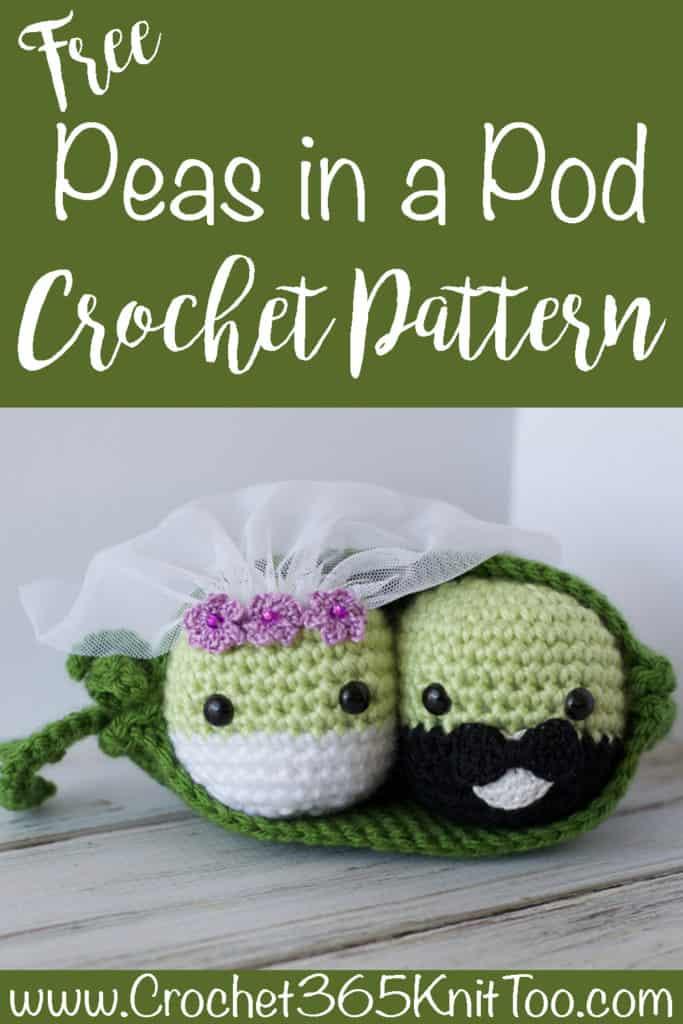 Crochet Peas Pattern