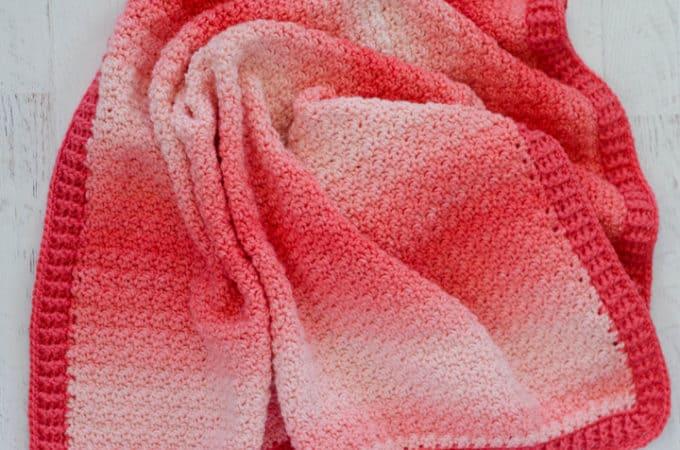 Strawberry Lemon Peel Baby Blanket