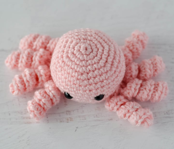 friendly crochet spider pattern