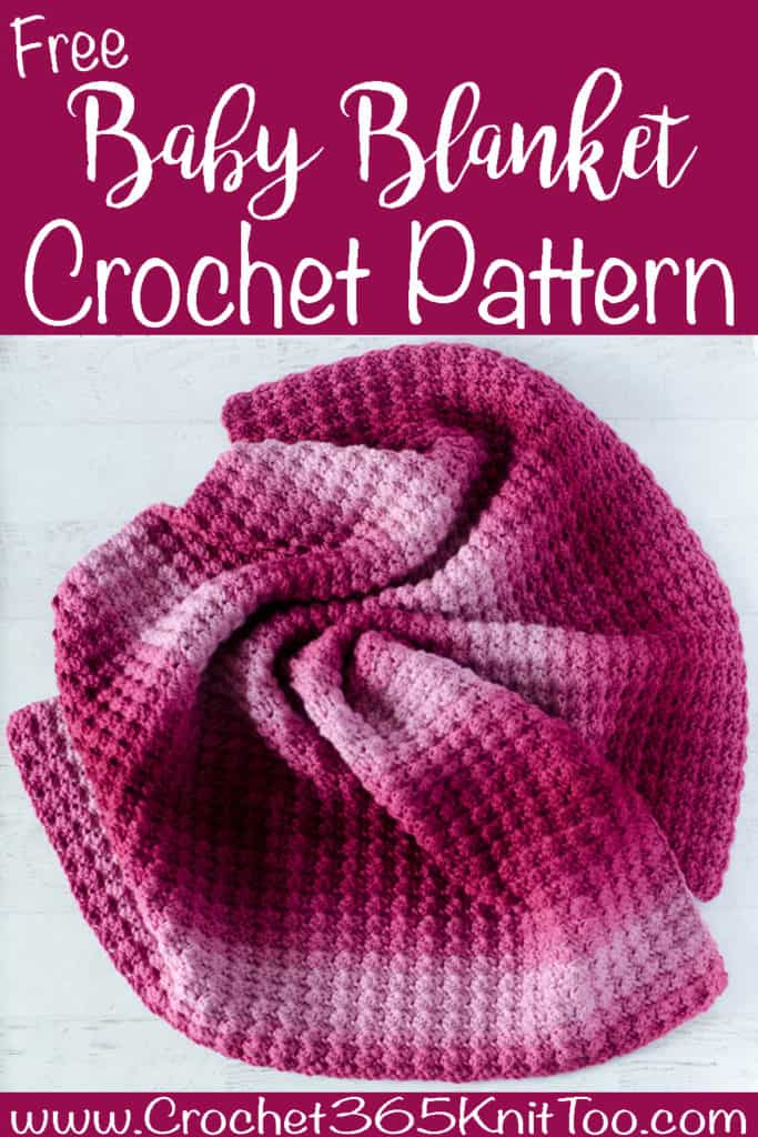 Beneficent Bella Crochet Baby Blanket