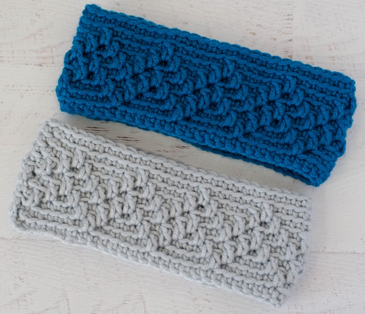 Michigan Mountain Crochet Ear Warmer