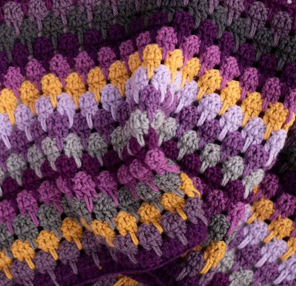 Crochet Scrap Blanket