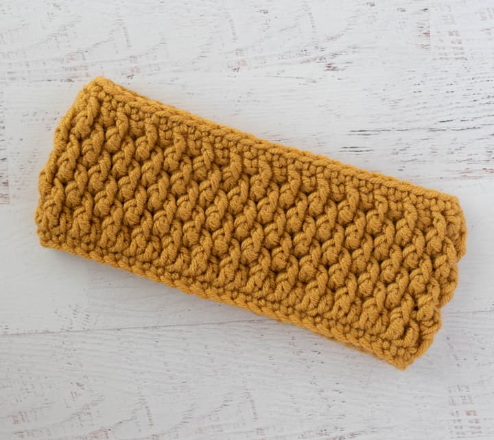 Alpine Crochet Headband
