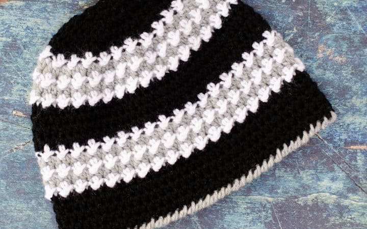 Winter Walk Crochet Cap