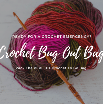 Crochet Bug Out Bag