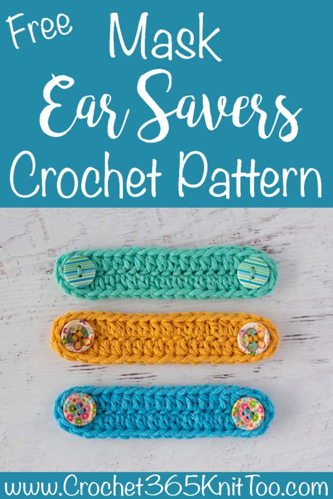 Crochet Ear Savers