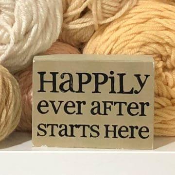 Choose Happy - A Yarn Lover's Tale