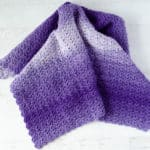 Tulip Stitch Crochet Baby Afghan