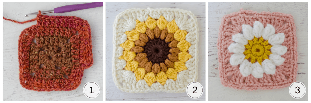 Other crochet granny squares